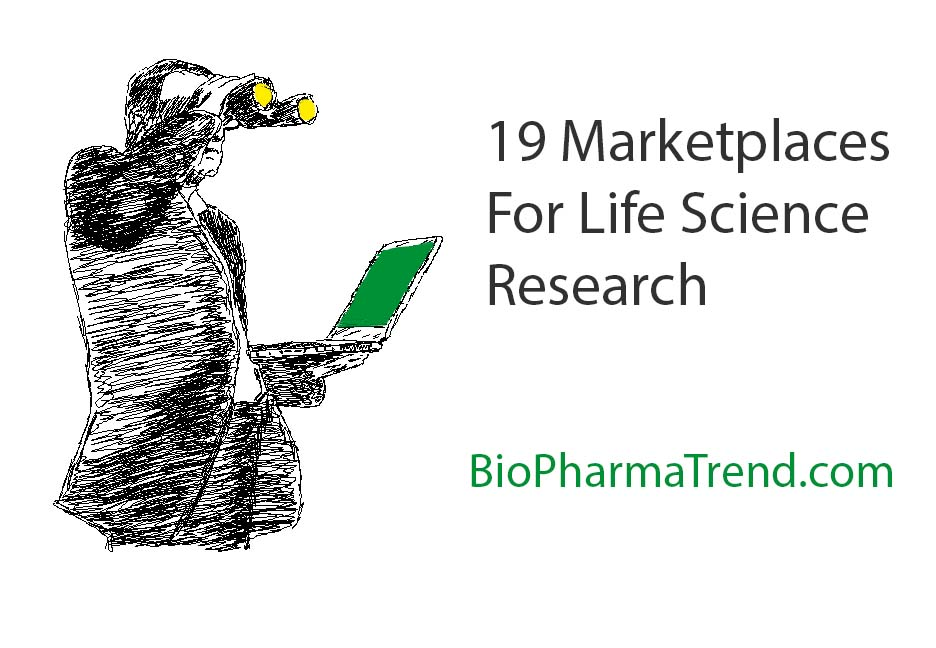 19 Online Marketplaces Facilitating Life Science Research