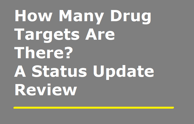 How Many Drug Targets Are There? …