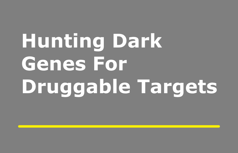 Hunting Dark Genes For Druggable Targets