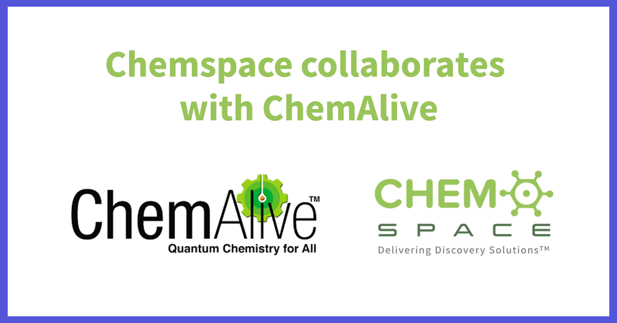 Chemspace collaborates  with ChemAlive
