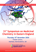 31st symposium on Medicinal Chemistry in Eastern England - a virtual event