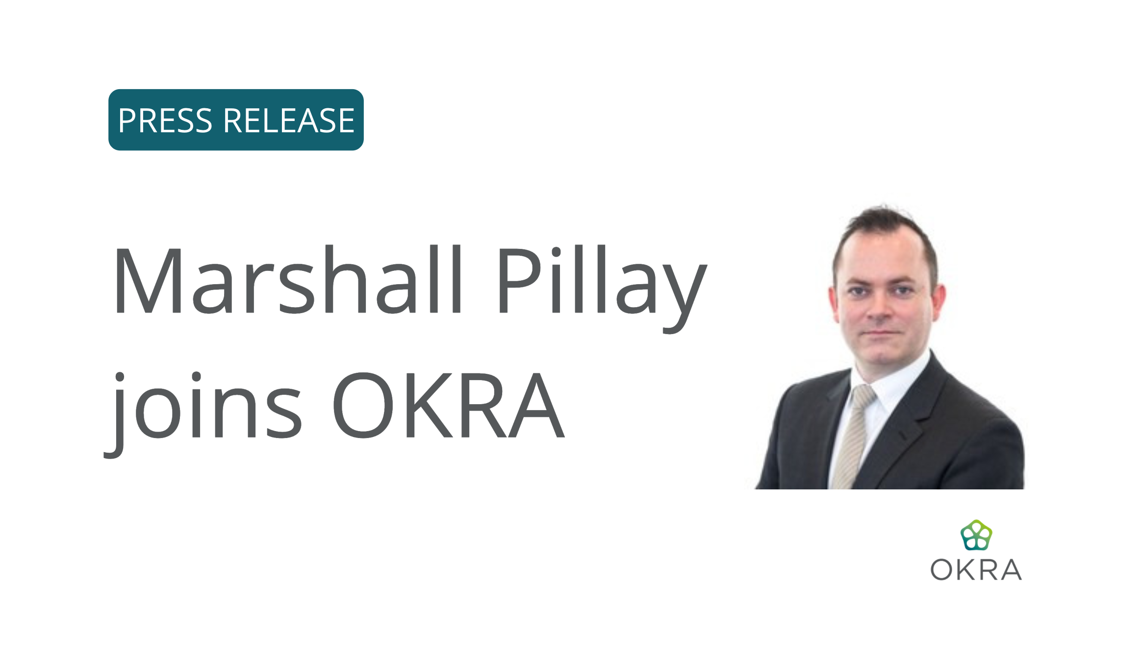 Marshall Pillay joins OKRA