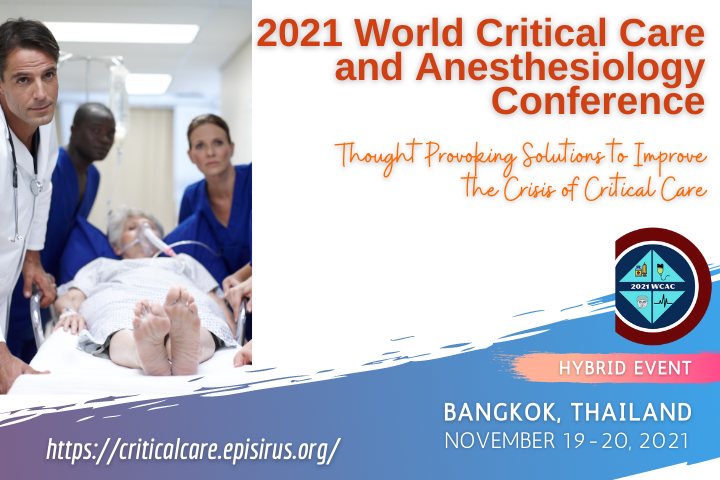 2021 World Critical Care and Anesthesiology Conference