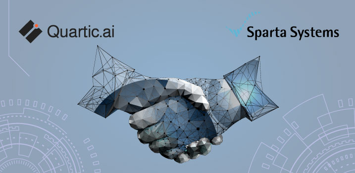 Quartic.ai Announces Partnership with Sparta Systems to  Connect Real-Time Manufacturing Insights to QMS