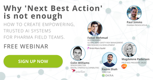 "FREE WEBINAR: ""Why 'Next Best Action' is not enough"""