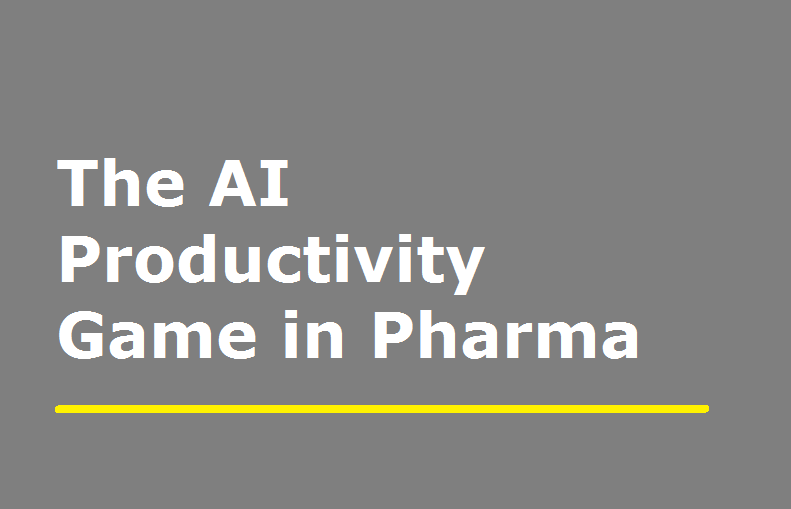 The AI Productivity Game in Pharma