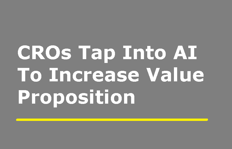 Contract Research Organizations Tap Into AI To Increase Value Proposition