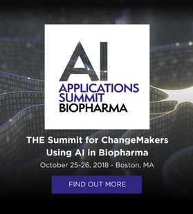 AI Applications Summit | Biopharma | October 2018
