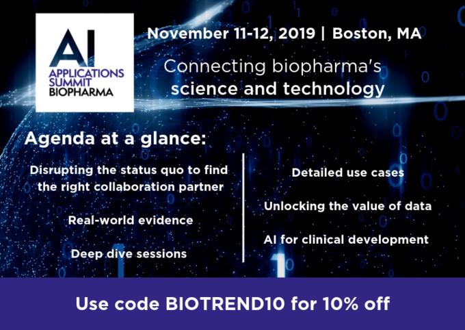 AI Applications Summit Biopharma 2019 | BioPharmaTrend